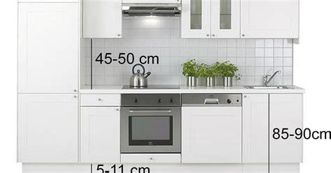 mesas de cocina medidas reformar la cocina distancias medidas y dimensiones a