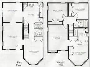 best 2 story house plans two story house plans with basement canada ehouse plan 17