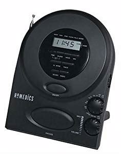 homedics envirascape sound spa alarm clock radio home kitchen