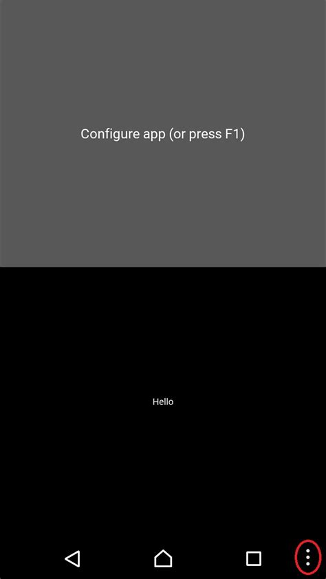 kivy android python kivy buildozer app shows 4 navigation key on android stack overflow