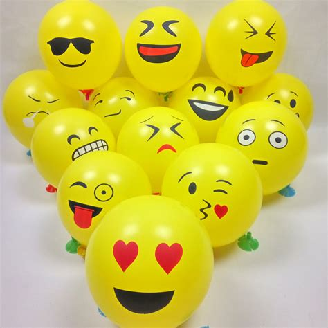 Balon Tiup Emoticon 100 Pcs compare prices on smiley shopping buy low price smiley at factory