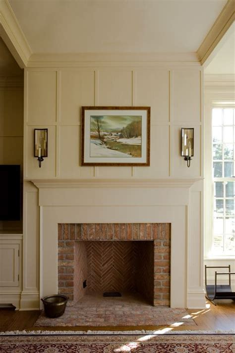brick fireplace mantels surrounds woodworking projects