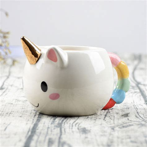 5 Clogs Cuteness Ideas by Unicorn Ceramic Mug Easy 5 Gift Ideas