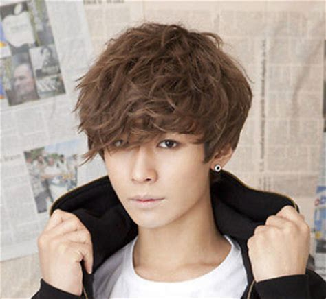 fashion men handsome short hair sexy korean boys male wig online buy wholesale hot boys hair styles from china hot