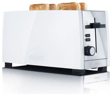 Graef 4 Slice Slot Toaster graef 4 slice slot white toaster to101 uk contemporary toasters by amara