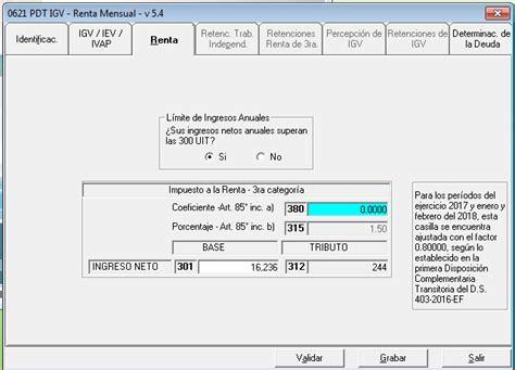 coeficiente del impuesto a la renta noticiero contable sunat r 233 gimen mype tributario noticiero contable