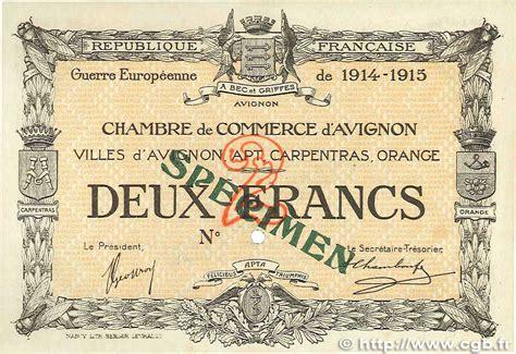 chambre de commerce avignon 2 francs regionalismo e varie avignon 1915 jp 018