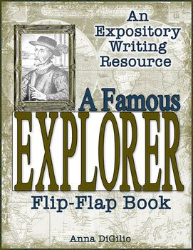 flipped book report explorers by simply skilled in second teachers pay teachers