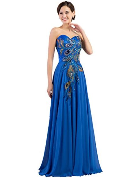 Bj Line Dress Blue grace karin strapless embroidery prom dress a line