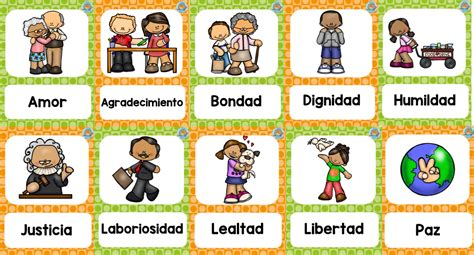 imagenes animadas sobre los valores fabulosos dise 241 os sobre los valores educaci 243 n primaria