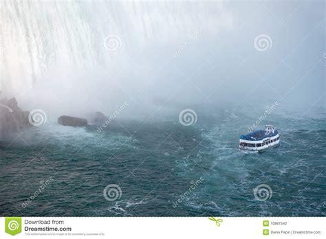 niagara falls canada boat tour prices niagara falls and maid of the mist tour boat stock photo