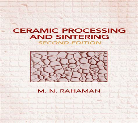 ceramic processing and sintering materials engineering books free chemical engineering books ceramic processing and