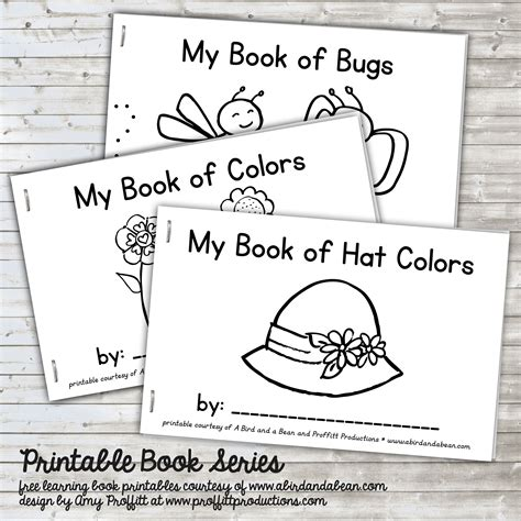 printable toddler books summer book series free printable