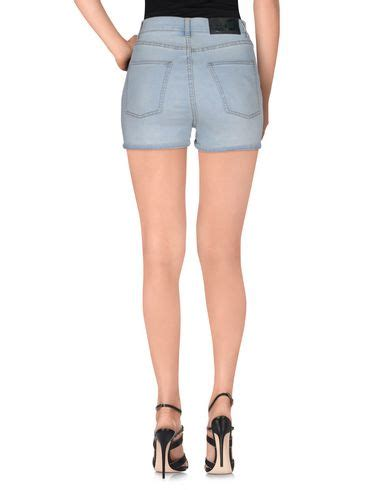 Cheap Monday By Ags Denim cheap monday denim shorts blue modesens