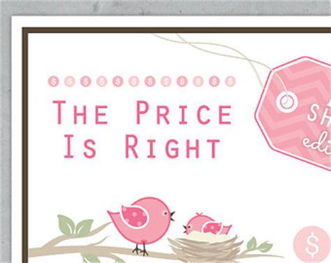 Baby Shower Price Is Right Logo by Price Is Right Clip 61