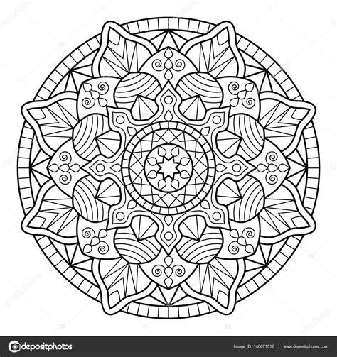 mandala coloring book mandala coloring book pages stock vector 169 jelisua88