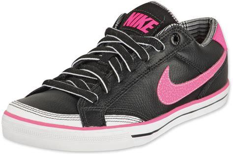 nike ii w shoes black pink