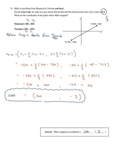 Analytic Geometry Grade 10 Worksheets by Mr Maag Grade 9 Math News And Homework