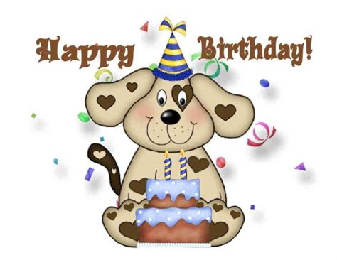 happy birthday puppy images happy birthday wishes with page 6
