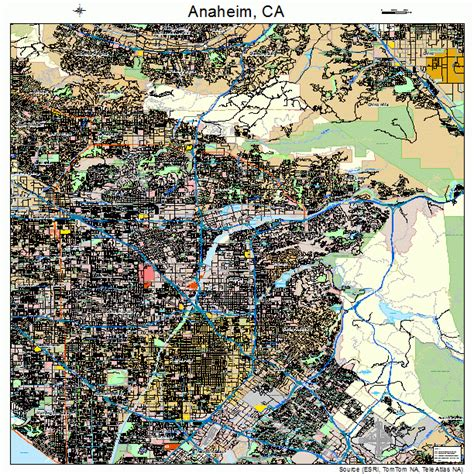 anaheim california map anaheim california map 0602000
