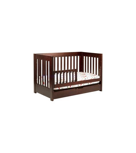 Babyletto Mercer 3 In 1 Convertible Crib With Toddler Bed Convertible Crib Espresso