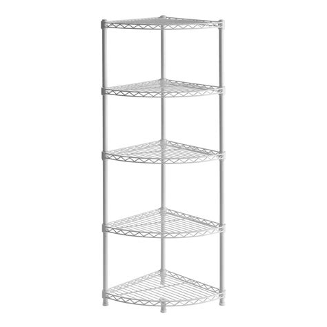 rack 47 in h x 14 in w x 14 in d 5 shelf steel