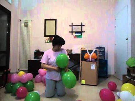 palloncini modellabili fiore tutorial passo passo per creare il fiore di palloncini
