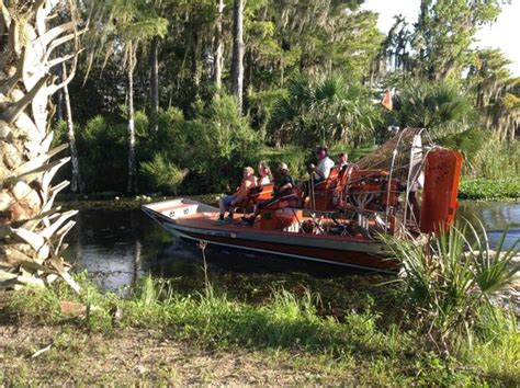 airboat near kissimmee nature tours near kissimmee orlando ta picture of bj