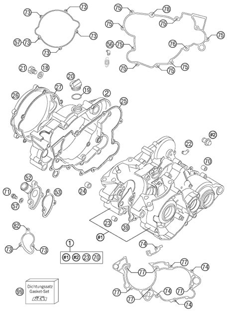 ktm parts diagram ktm fiche finder engine spare parts for the ktm 85 sx