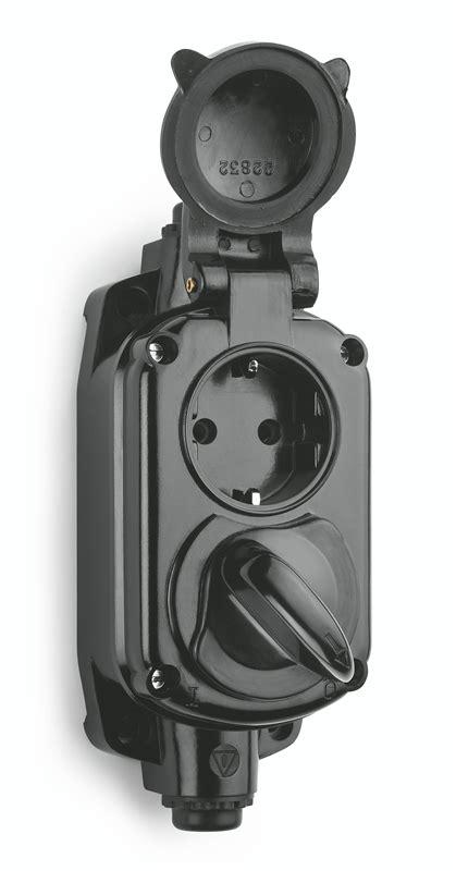 Bakelit Schalter Aufputz by Aufputz Garagensteckdose Ip20 Bakelit 100295