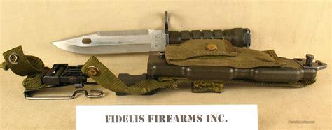 usmc bayonet marine corp m9 usmc buck bayonet with scabbard