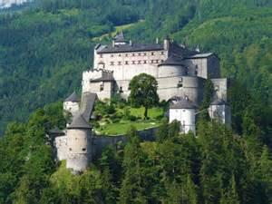 hohenwerfen castle burg hohenwerfen salzburg austria