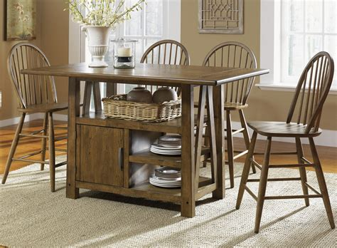 Island Bar Table by Center Island Pub Table By Liberty Furniture Wolf And