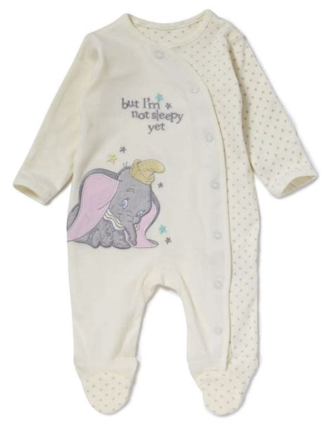 Sleepsuit Baby Preloved 1 dumbo baby sleepsuit baby george at asda disney baby stuff babies clothes