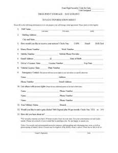 update contact information form template best photos of tenant information update form tenant