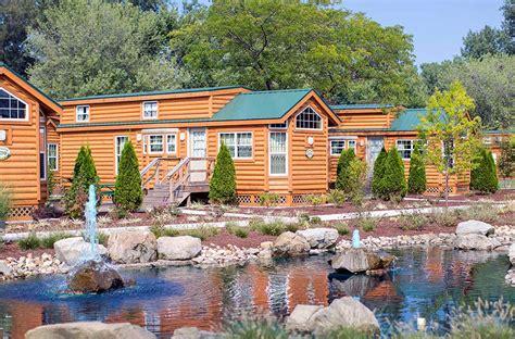 luxury camping rv sites cabin cottage rentals cedar point