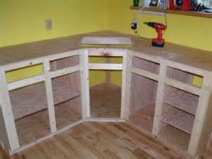 How Make Kitchen Cabinets How To Build Kitchen Cabinet Frame Diy Pinterest