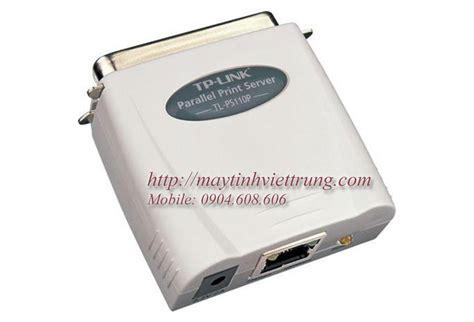 Tp Link Tl Ps110p Single Parallel Port Utp Print Server single parallel port fast ethernet print server tl ps110p