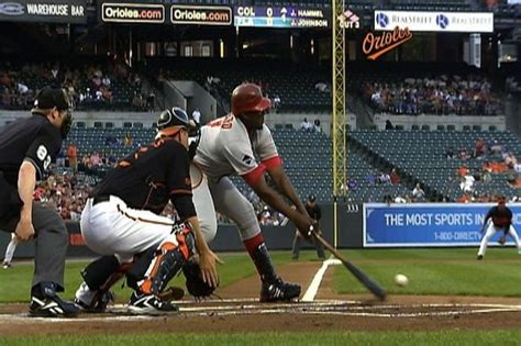 vladimir guerrero swing if a baseball batter hits a pitch on a bounce does it