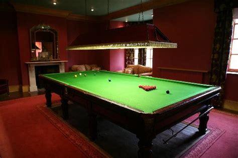 snooker room bryn tanat llansantffraid ym mechain villa reviews photos tripadvisor
