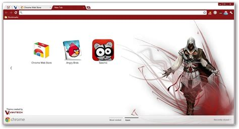 theme google chrome stitch assassin s creed google chrome themes