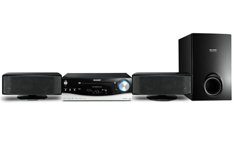 Home Theater Sharp Qwanza Ht Cn890dvw Sharp Ht Dv40h Review A Simple High Quality 2 1 Dvd System Home Entertainment Home