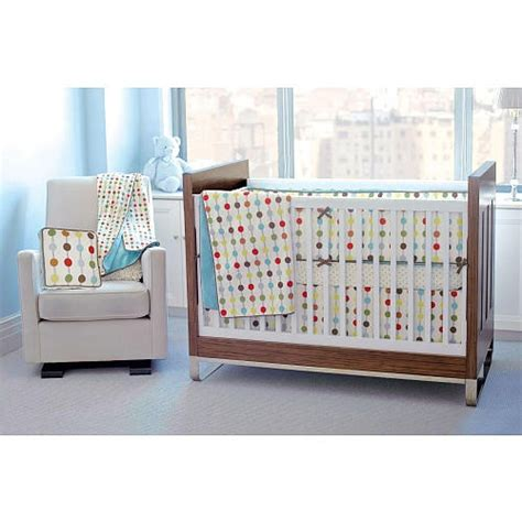 Skip Hop Mod Dot Crib Bedding by Discover And Save Creative Ideas