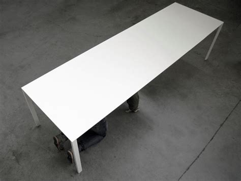 Thin Table L by Thin K Table For Kristalia Studio Luciano Bertoncini