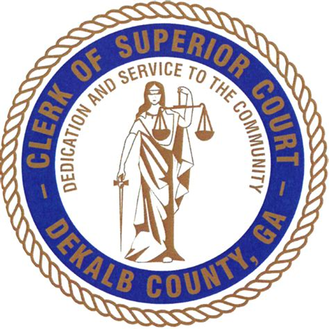 Dekalb County Ga Clerk Of Court Search Dekalb County Clerk Of Superior Court Civil Department