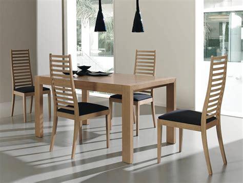 comedores modernos muebles comedor madera moderna facil