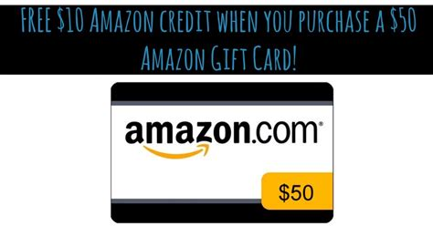 Amazon Prime Gift Card Promo - amazon prime free 10 credit w 50 amazon gift card purchase fabulessly frugal