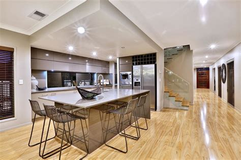 display homes interior gj gardner display home lakes contemporary kitchen brisbane by ur space