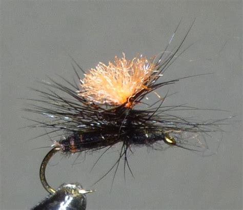black gnat pattern parachute black gnat pattern