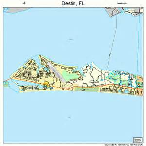 destin florida map 1217325
